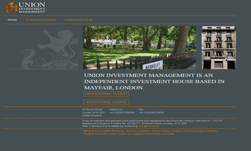 UNION INVESTMENT MANAGEMENT